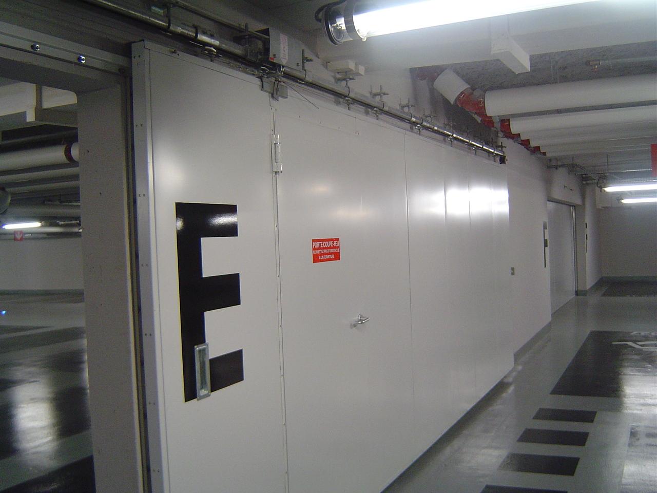 Pl2m maintenance portes coupe feu et isothermes - Porte coupe feu reglementation ...